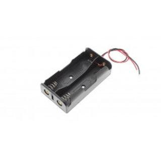 Батарейный отсек 2х18650 с проводами