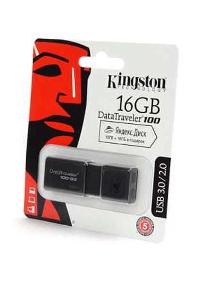 Флеш накопитель KINGSTON USB 3.0/2.0 16GB