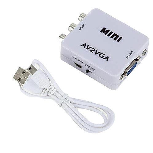 Конвертер для перевода сигнала из AV- в VGA