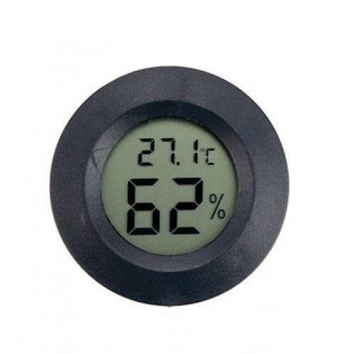 Термометр + гигрометр круглый
