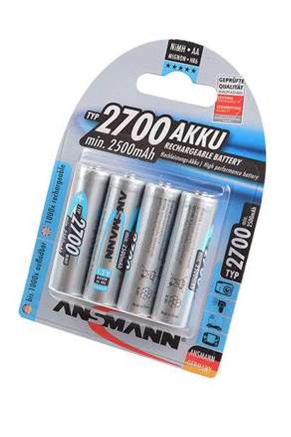 ANSMANN 5030842-RU 2700мАч AA