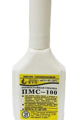 Смазка силикон ПМС100(МАСЛО) капельница пласт.
