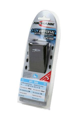 Блок питания ANSMANN 5111243 APS1000 1000мА стабилизированный