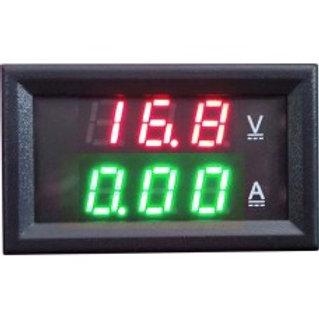 Модуль амперметр (зеленый) + вольтметр 0-100В 10А