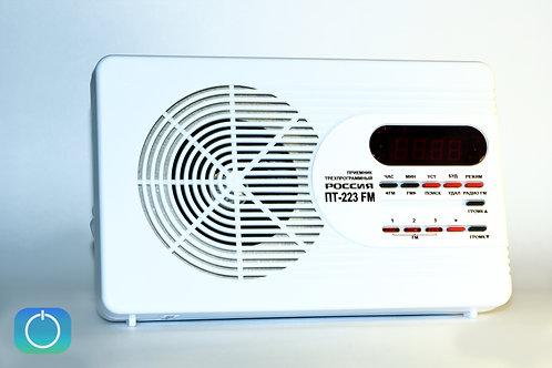 Трехпрограммный радиоприемник Россия ПТ-223-FM УКВ