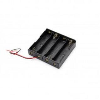 Батарейный отсек 4х18650 с проводами