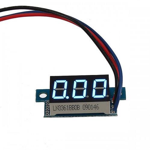 """Модуль вольтметра 0,36"""" 0-200В (Синий)"""