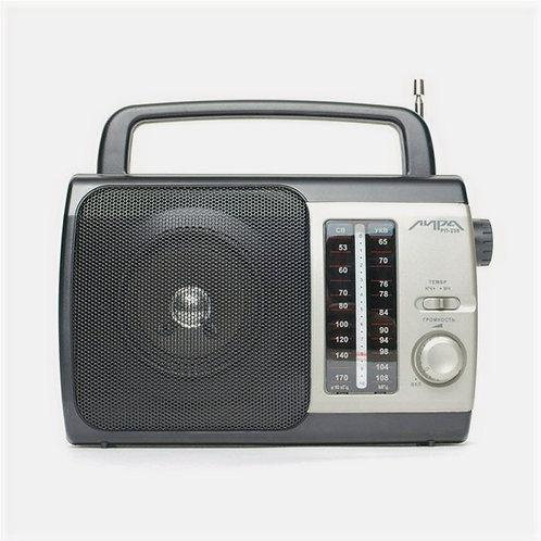 Радиоприемник Лира РП-236 УКВ FM-СВ