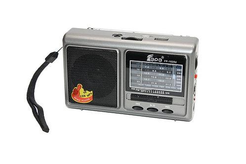 Радиоприемник FP-1525U USB/microSD