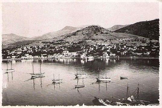 Bodrum Limanı 1930'lar Bodrum Harbor 1930s