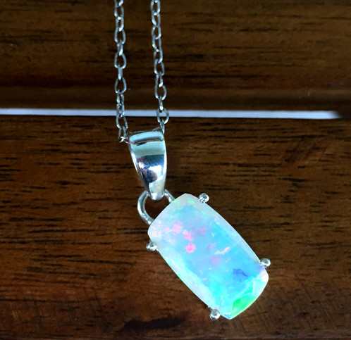 Ethiopian opal pendant csrjewelrydesign ethiopian opal pendant mozeypictures Choice Image