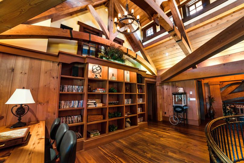 Cedars Lodge Library