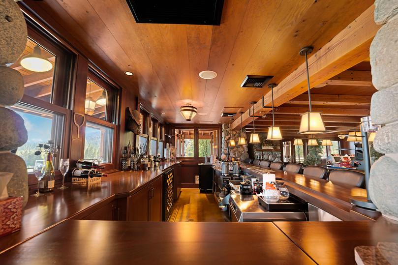 Cedars Lodge Buffet Kitchen