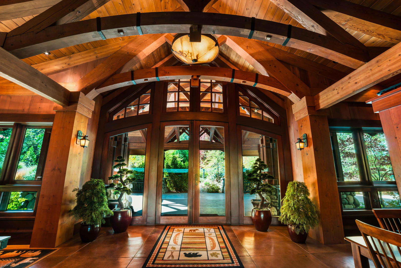Cedars Lodge Entry