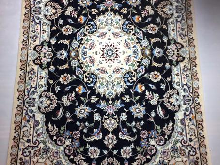 ペルシャ絨毯ウール&シルク