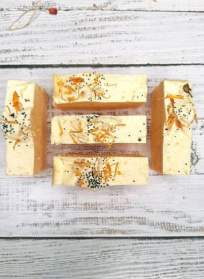 Calendula & Dandelion Goat Milk Soap