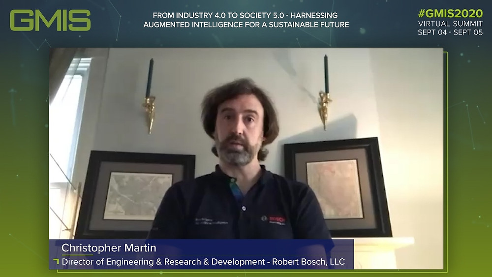 Christopher Martin, Director of Engineering and Research and Development, Bosch
