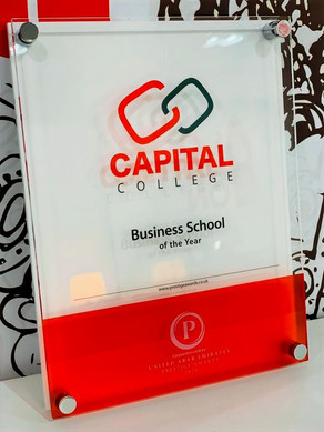 Capital College awarded 'Best Business School in the UAE' at Prestige Awards UK