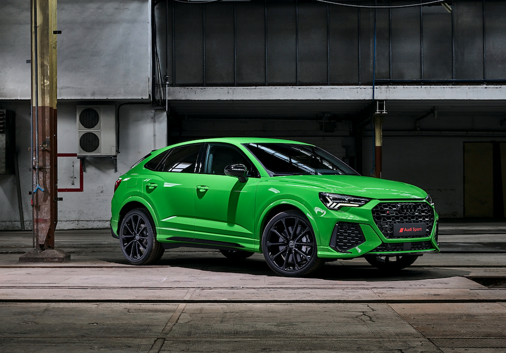 Coupe-Like Silhouette: Audi RS Q3 for the First Time as Sportback