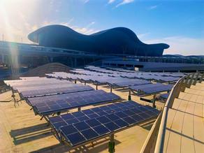 Abu Dhabi Airports and Masdar Complete Development of Largest Solar-Powered Car Park Abu Dhabi