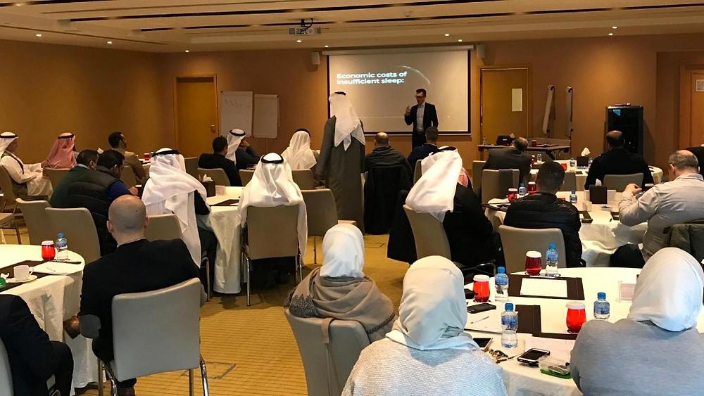 Hintsa Workshop for Kuwait Finance House