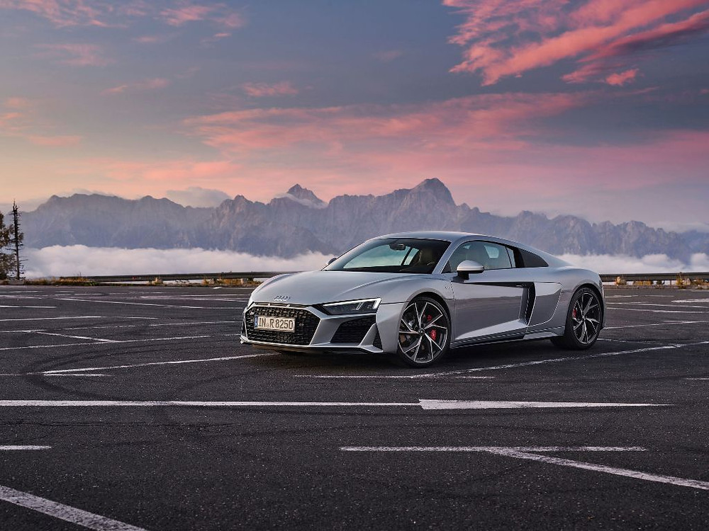 The all-new SUV coupe, the Audi RS Q8, and the honed new looking Audi R8