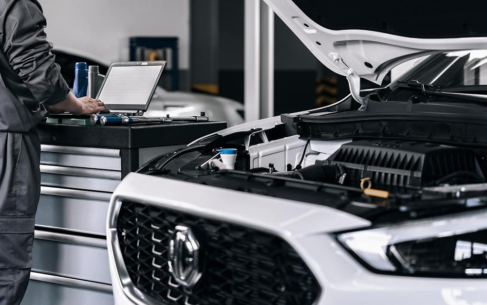 MG Motor's Diagnosis Service Procedure