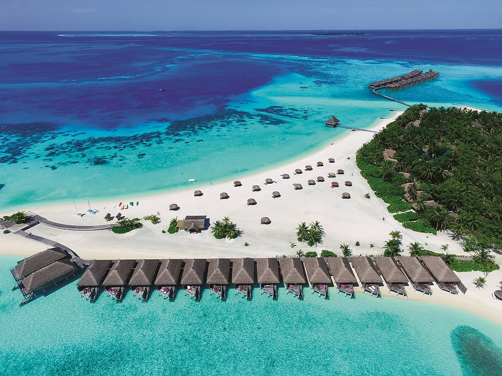 Constance Moofushi hotel in the Maldives