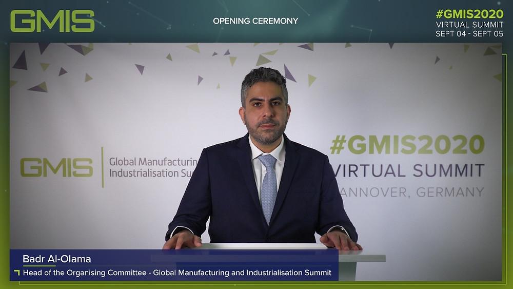 Badr Al- Olama, Head of the Organisinng Committe of GMIS
