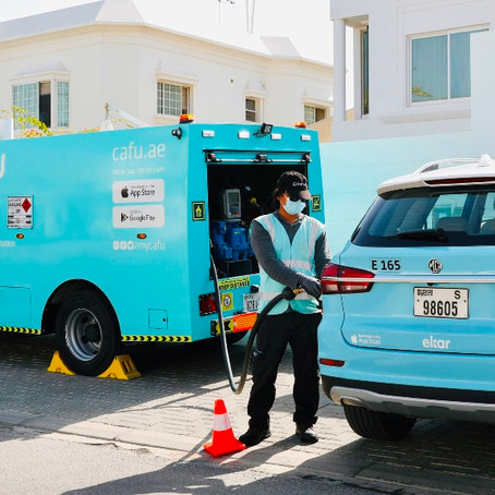 CAFU Fuels up Partnership With Ekar to Deliver Greater Convenience in Motion