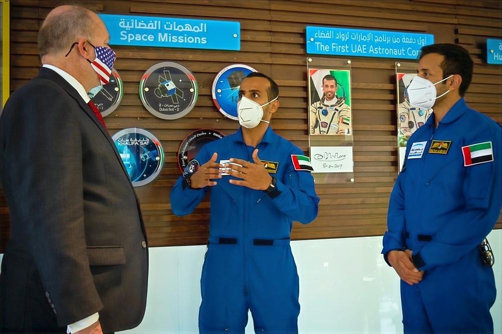 US Delegates Visit MBRSC