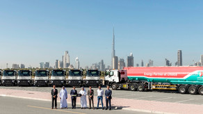 ENOC  Snaps up Eight New Renault Trucks C 380