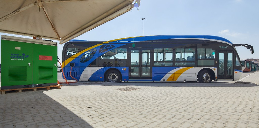 Abu Dhabi Rolls Out Green Buses