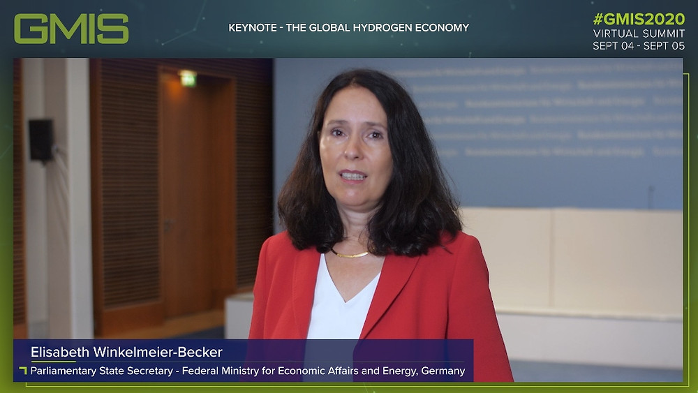 Elisabeth Winkelmeier-Becker, Parliamentary State Secretary at the Federal Ministry for Economic Affairs and Energy, Germany