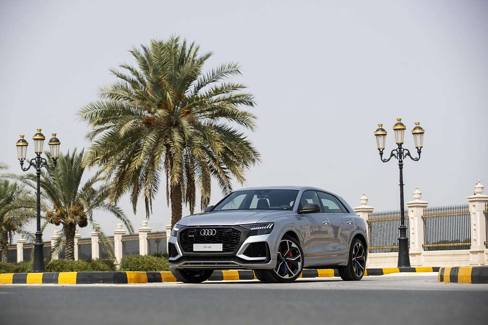 The all-new SUV coupe, the Audi RS Q8, and the honed new looking Audi R8 make UAE debut
