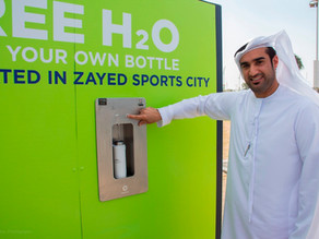 Plastic waste from single-use bottles at Zayed Sports City is set to shrink by 219 tonnes