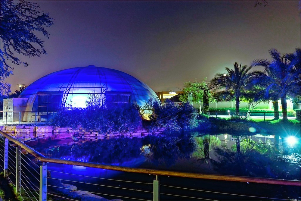 The Sustainable City in Dubai Commemorates World Autism Day by Joining 'the Light up Blue' Campaign