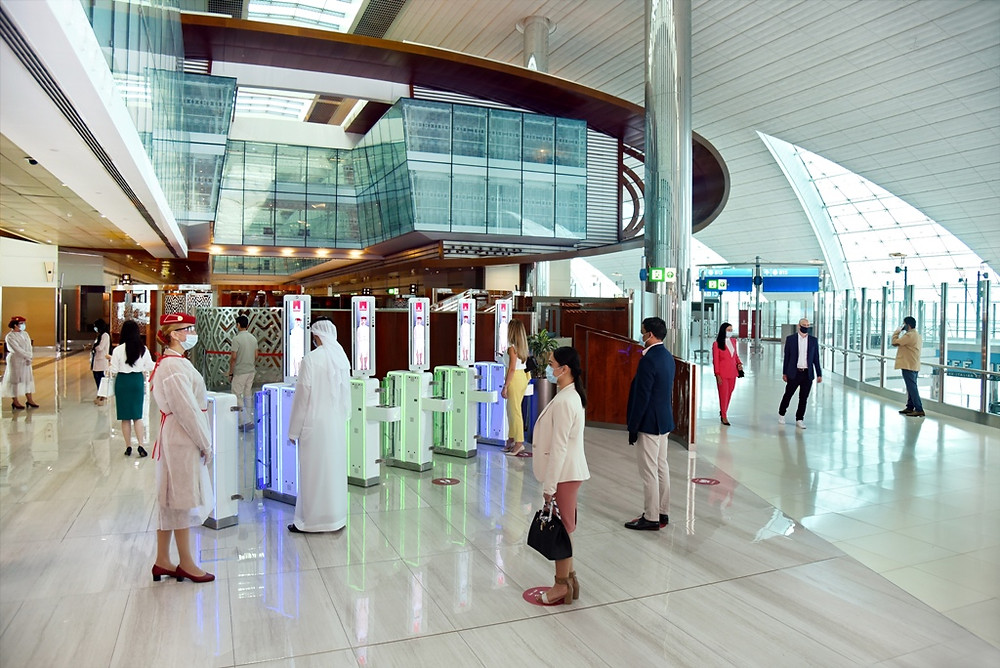 Emirates resumes on-ground services for premium customers