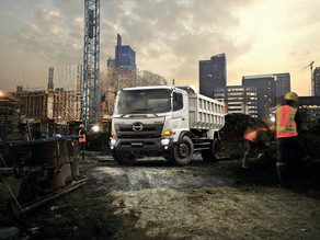 Hino Introduces Automatic Transmission Model to MDT Line-up in Middle East Region