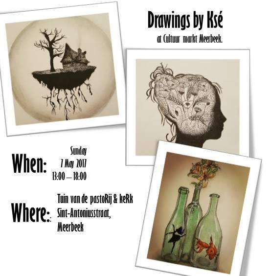 Exhibition in Meerbeek, 7/05/17
