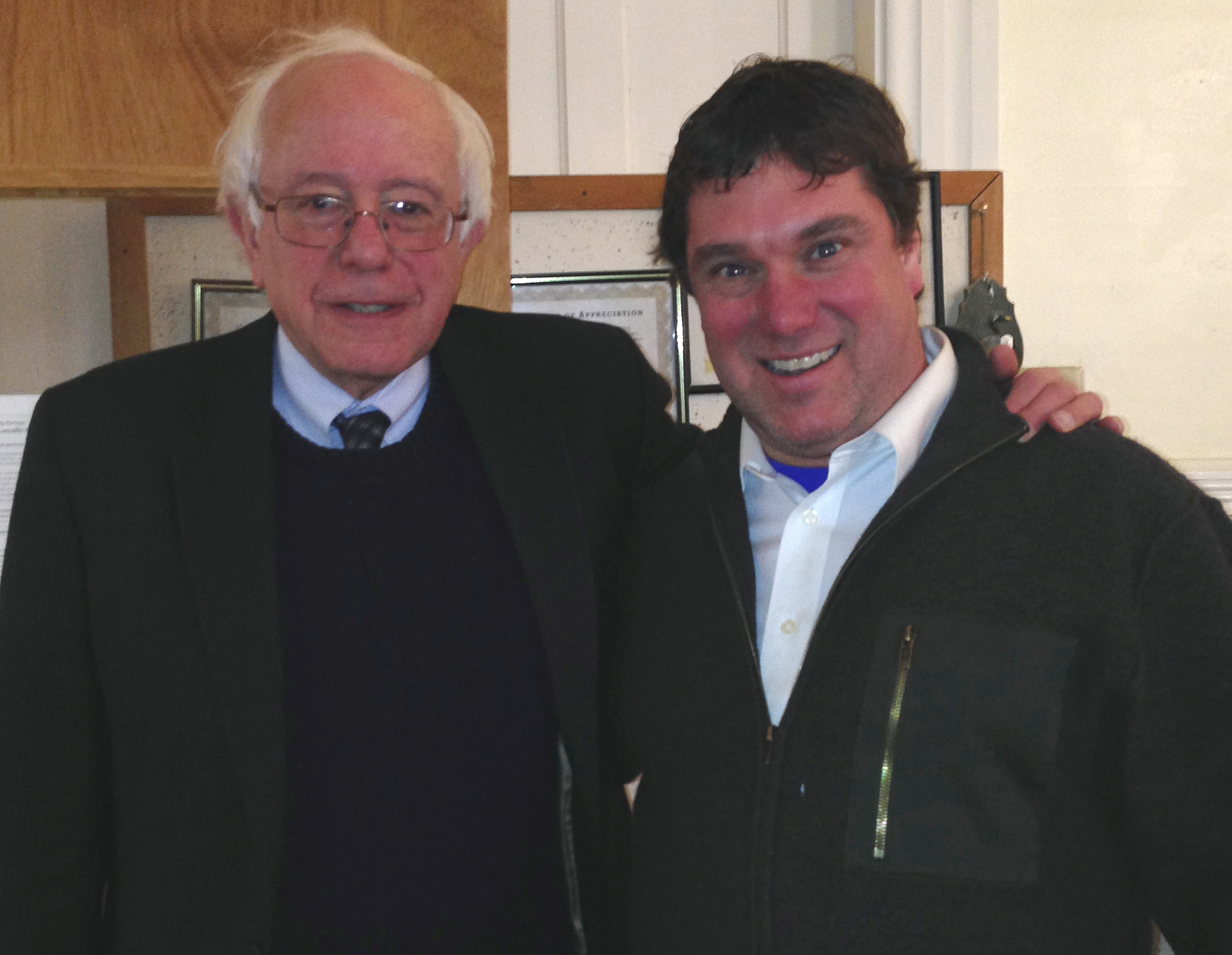Bernie and Dan
