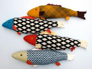 Fabric Fish! - craft evening