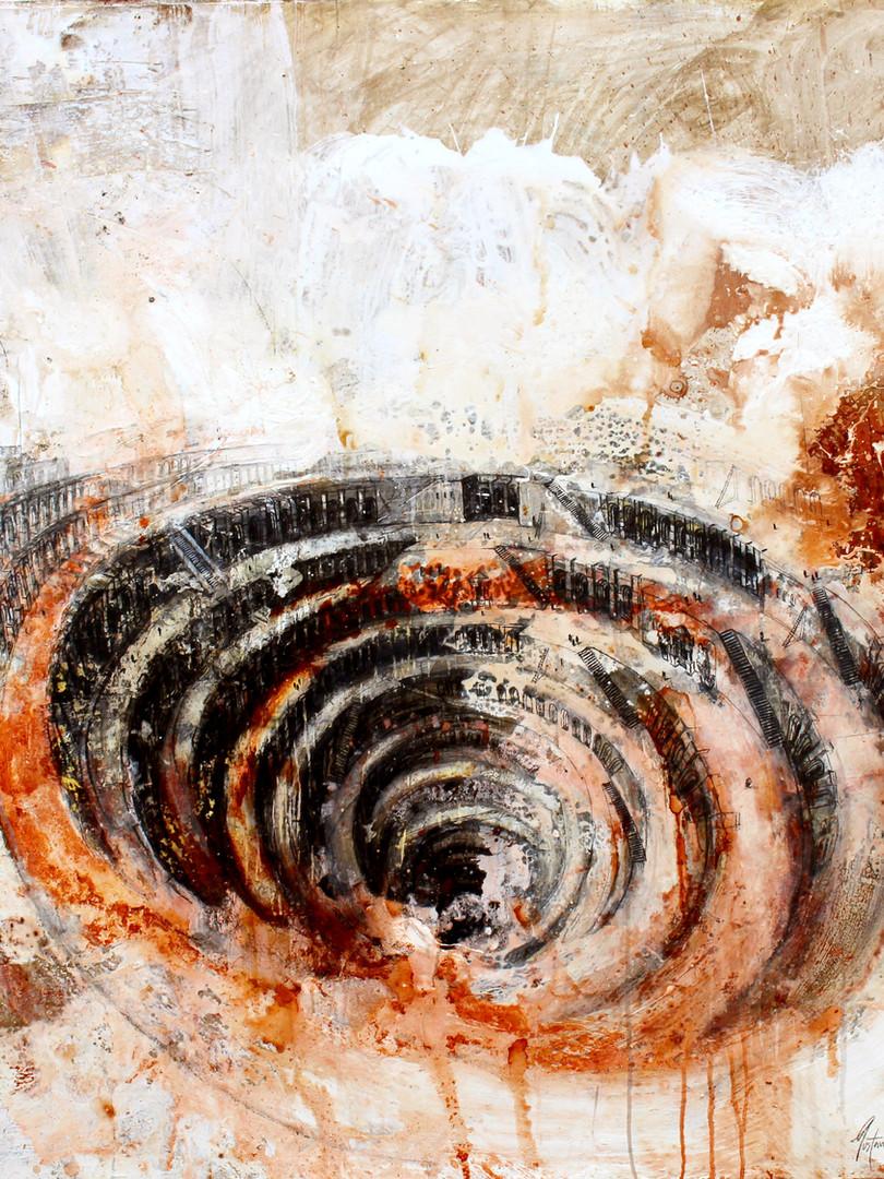 Topografía del Infierno, según cuenta Dante