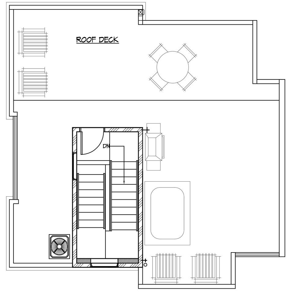 2920 Unit 1 - Roof Level
