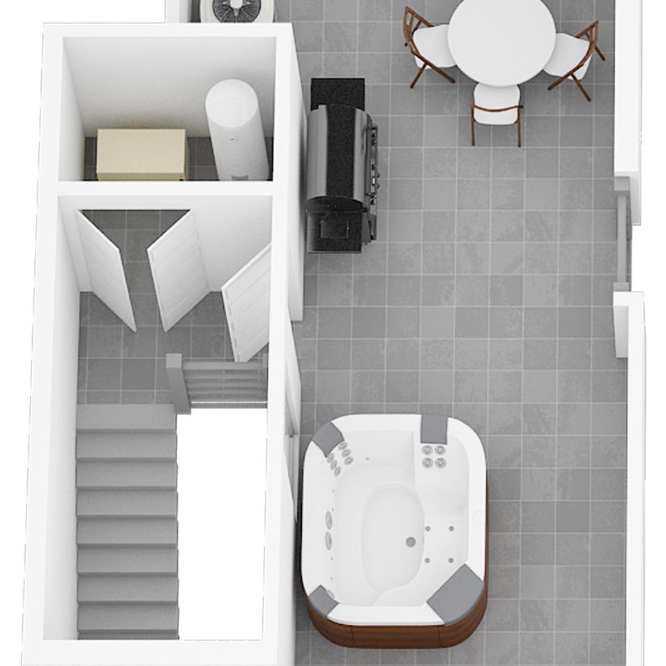 2920 Unit 5 - Roof Level