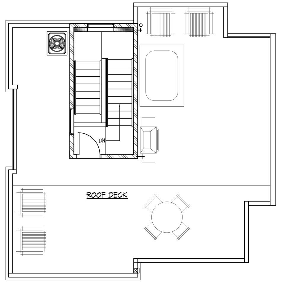 Unit 1 - Roof Level
