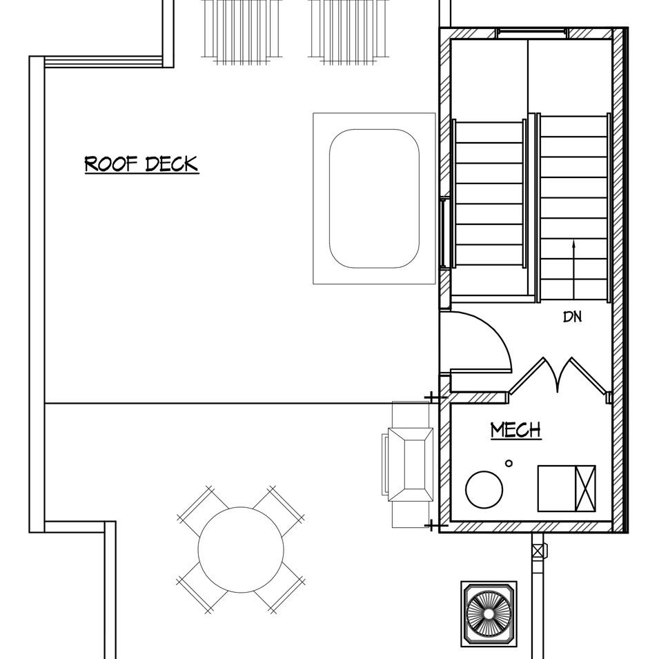 Unit 2, 3, 4 - Roof Level