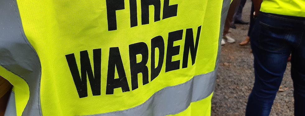 Fire Warden / Marshals