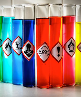 Aligned Chemical Danger pictograms - Tox