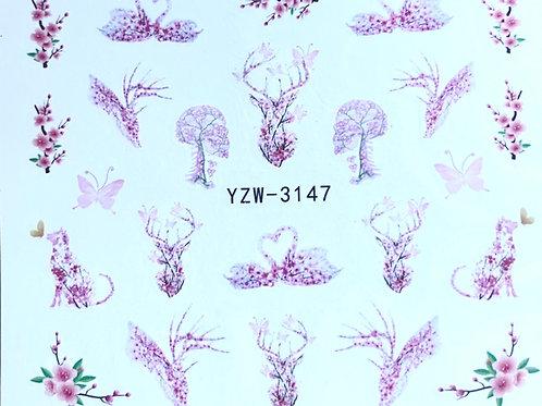 Water Decall YZW-3147